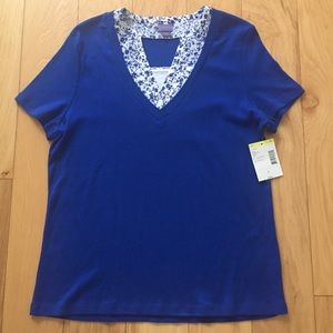 NWT Laura Scott Top Size Large.